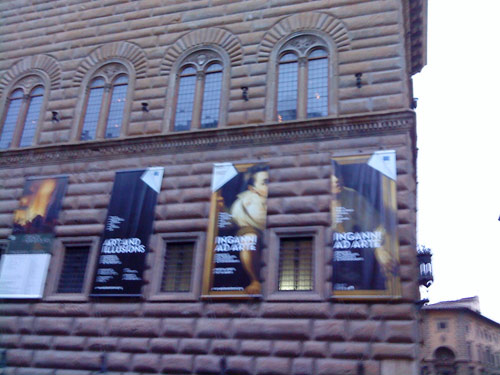 Art and Illusions at the Palazzo Strozzi in Florence, Italy