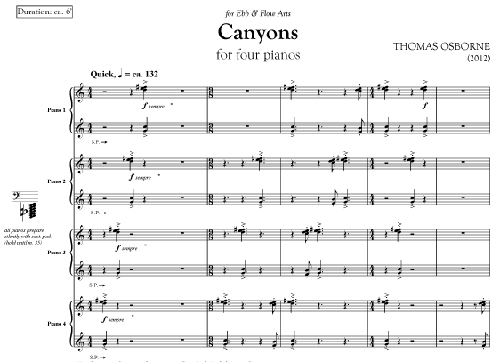 Canyons by Thomas Osborne, page 1