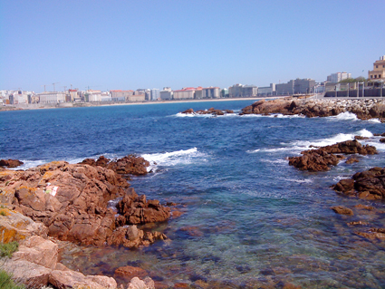 View in La Coruna, Spain in May 2009