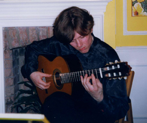 Robert Bekkers in London, April 2001