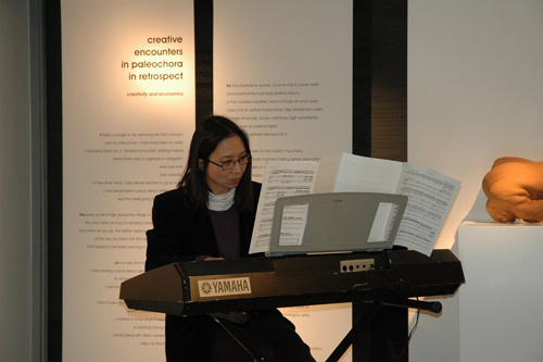 Anne Ku at the Creative Encounters exhibition at Artonivo