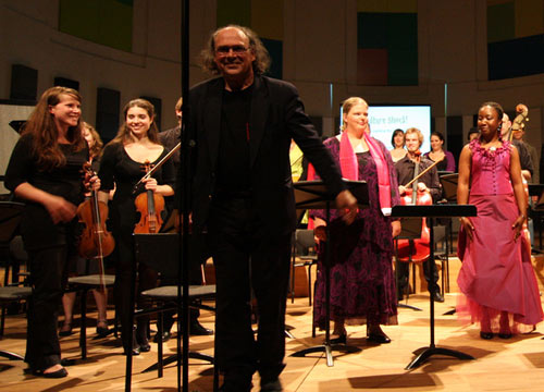 Henk Alkema conducted &quot;Culture Shock!&quot; at Utrecht Conservatory, 2 June 2008