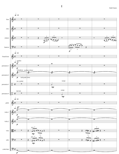 Guitar Concerto No. 2 by Mark Francis