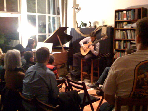 Loft concert in San Francisco