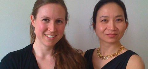 Stephanie Hunt, cello; Anne Ku, piano