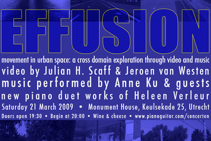 Effusion: a cross domain exploration house concert