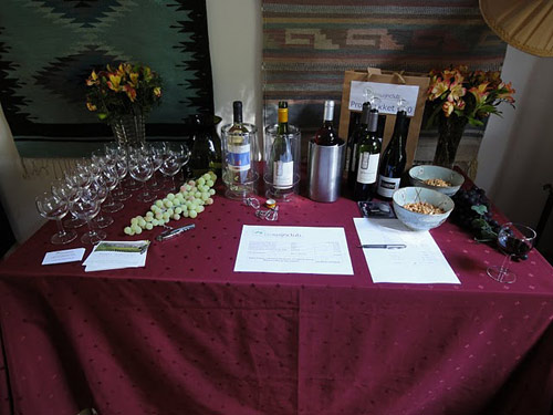 Organic wine tasting from Biowijnclub.nl   Photo: Susan Raddatz