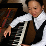 Anne Ku and Steinway grand in Utrecht monument house