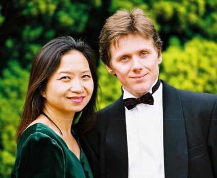 Anne Ku and Robert Bekkers, London