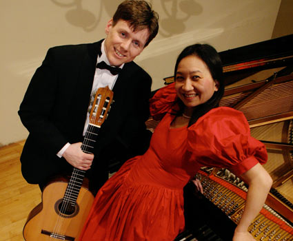 Robert Bekkers and Anne Ku at Bethanienklooster in Amsterdam 2004
