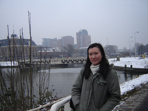 Lan Chee Lam, composer of &quot;Drizzle&quot; in Utrecht, Feb 2010